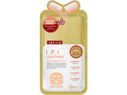 mediheal ipi lightmax hydro nude gel mask