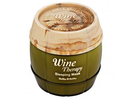 noční hydratační maska s výtažkem ze zrníček hroznového vína
