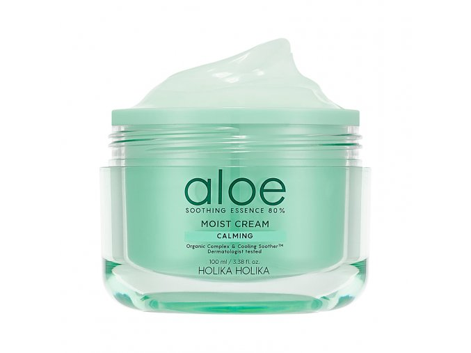aloe soothing essence 80 moist cream