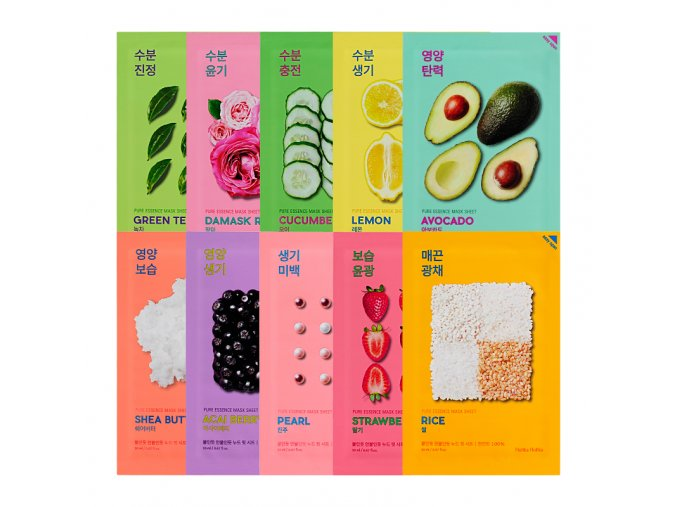 pure essence mask sheet set 10 pcs