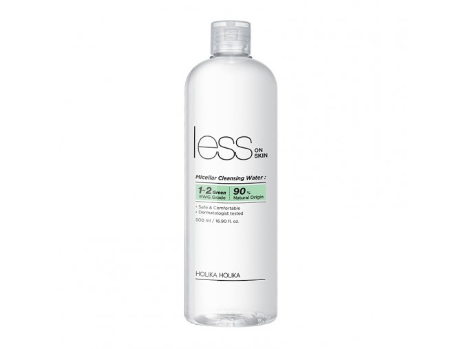 micellyarnaya voda less on skin micellar cleansing water