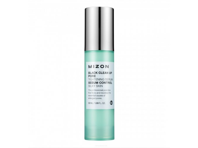 MIZON Black clean up pore tightening serum - Sérum na rozšířené póry