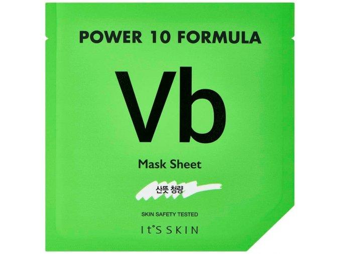 Power 10 Formula Mask Sheet VB