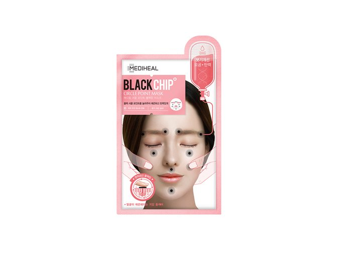circle point clack chip mask