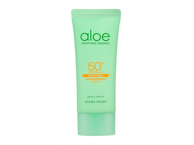 aloe soothing essence waterproof sun gel spf50 2