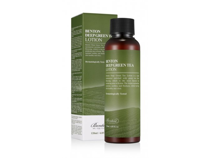 Benton Lekka emulsja Deep Green Tea Lotion 120 ml mini