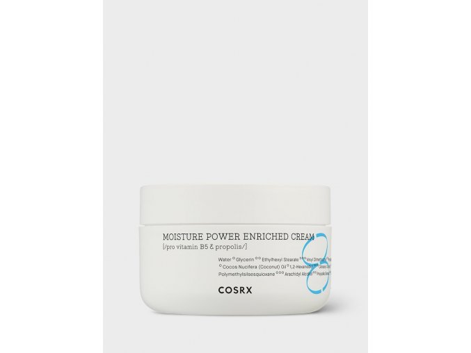 1817 cosrx hydrium moisture power enriched cream uv