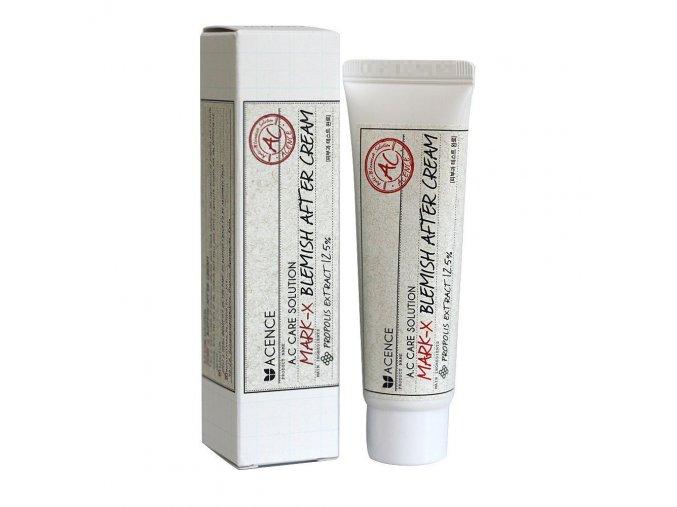 Antibakteriální a hojivý krém s centellou a propolisem (Acence Mark X Blemish After Cream) 30 ml