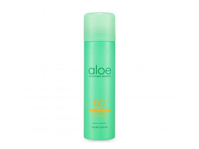 Aloe Soothing Ice Cooling Sun Spray SPF 50+ PA++++ - chladicí SPF sprej proti sluníčku s 62 % aloe vera 100 ml