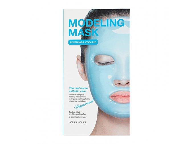 alginatnaya maska dlya lica modeling mask peppermint