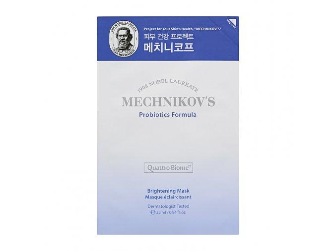 mechnikov s probiotics formula brightening mask sheet
