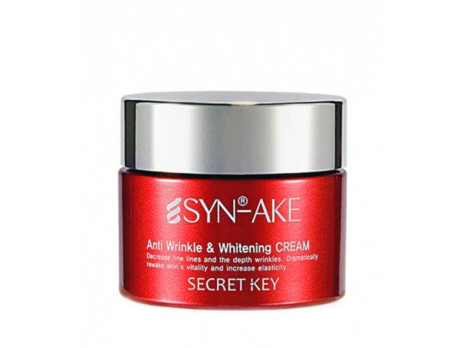 SYN-AKE Anti Wrinkle & Whitening Cream - Rozjasňující krém proti vráskám se 4% Syn-Ake 50g