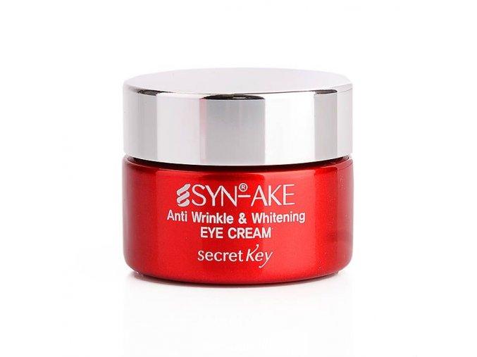 SYN-AKE Anti Wrinkle & Whitening Eye Cream - Rozjasňující oční krém proti vráskám se 4% Syn-Ake 15g