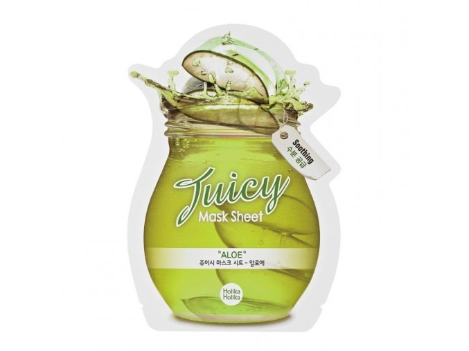 aloe juicy mask sheet
