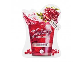 pomegranate juicy mask sheet