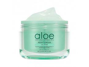 aloe soothing essence 80 moist cream