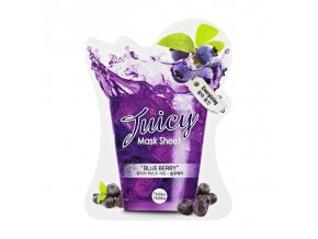 blueberry juicy mask sheet