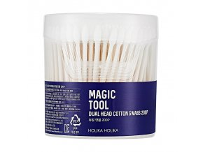 vatnye palochki magic tool dual head cotton swabs 200 sht