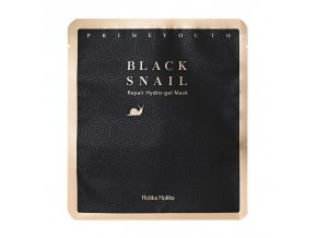prime youth black snail repair hydro gel mask