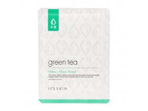 tkanevaya maska it s skin green tea watery mask sheet 700x700