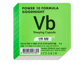 It's Skin Power 10 Formula Goodnight Sleeping Capsule VB - noční maska pro problematickou pleť 5 g