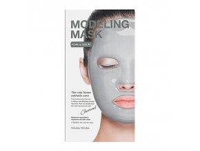 modeling mask charcoal