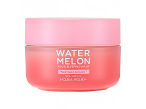 nochnaya maska watermelon aqua sleeping mask