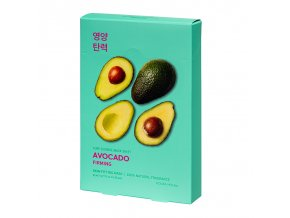 pure essence mask sheet avocado 5 pcs