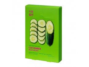 pure essence mask sheet cucumber 5 pcs