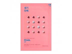 Zesvětlující plátýnková maska Pure Essence, výtažky z perel