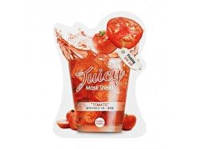 Tomato Juicy Mask Sheet pleťová maska s výtažky z rajčat 20 ml