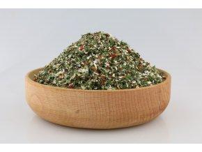 řez salátové bylinky