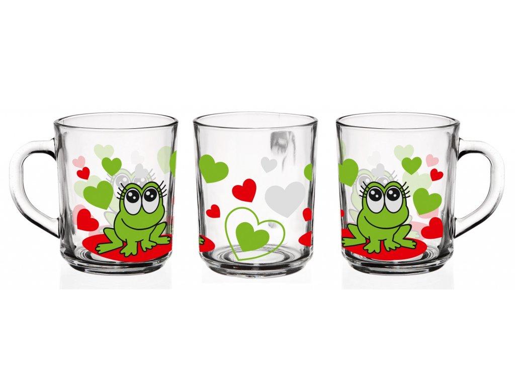 sklenice zaby