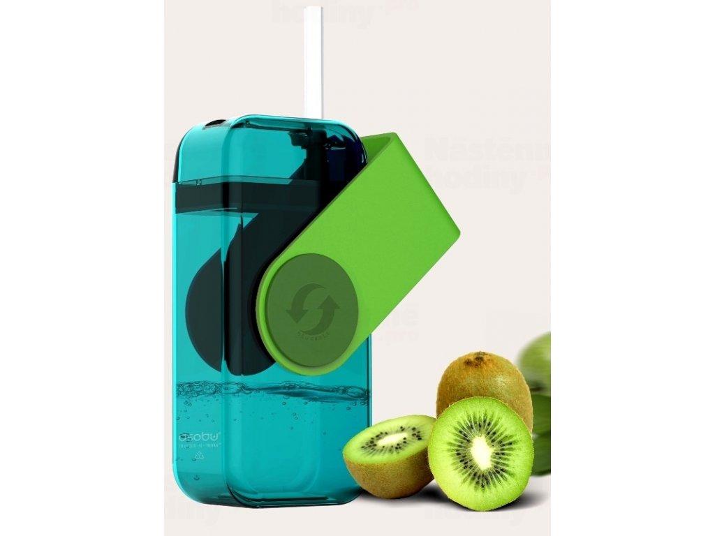 univerzalni detsky drink box asobu zeleny 300ml