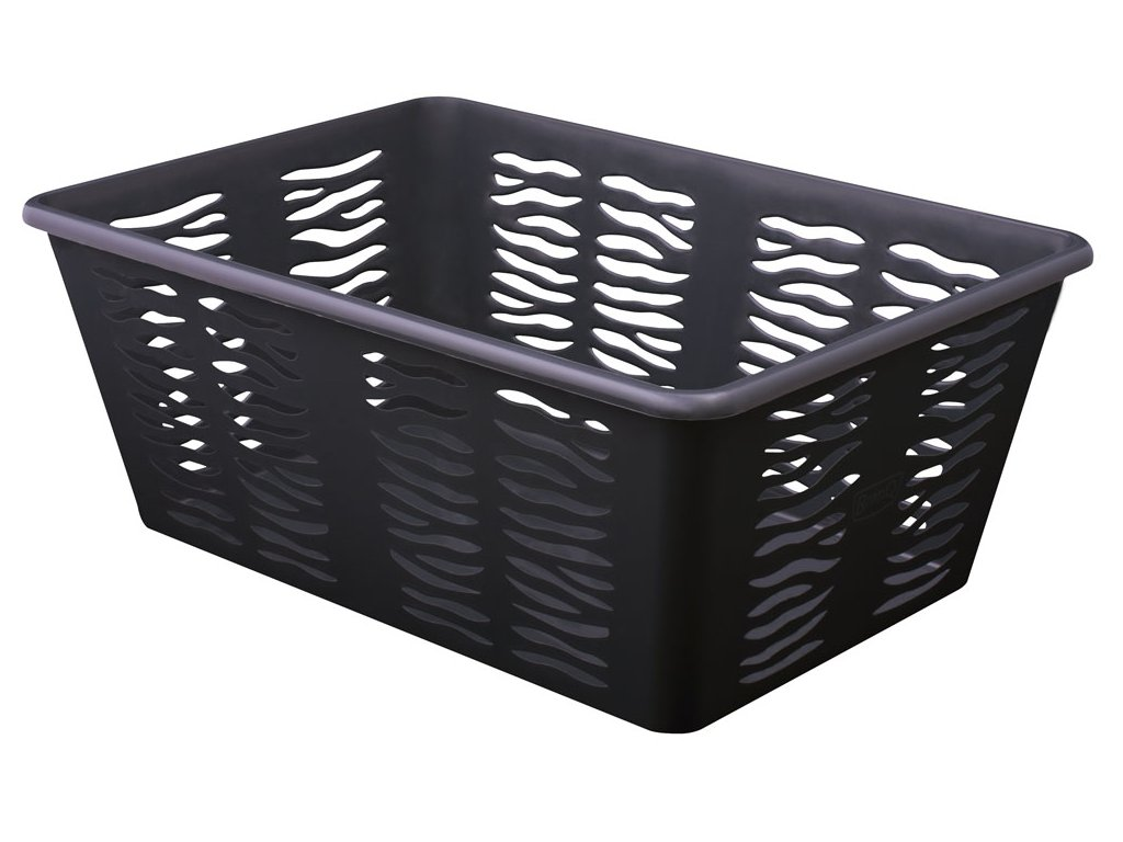 koszyk zebra 4 1704 antracyt