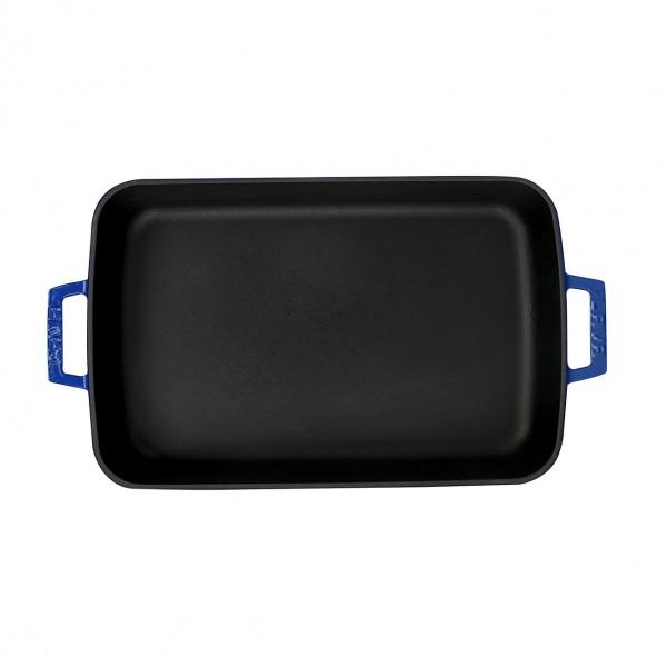 LAVA METAL Litinový pekáč 22x30cm - modrý