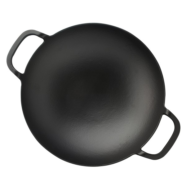 """LAVA METAL Litinová pánev """"wok"""" 38 cm"""