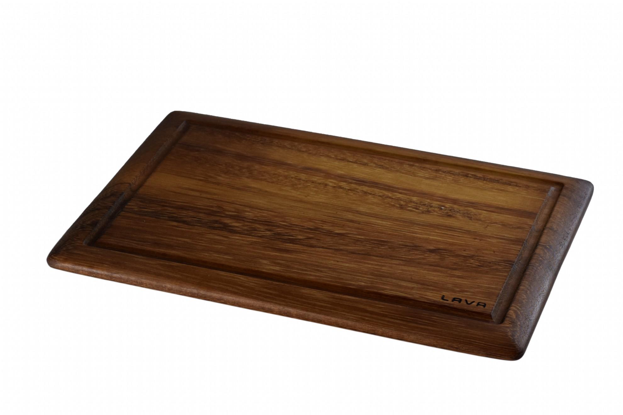 LAVA METAL Lava wood - krájecí deska 25x35 cm