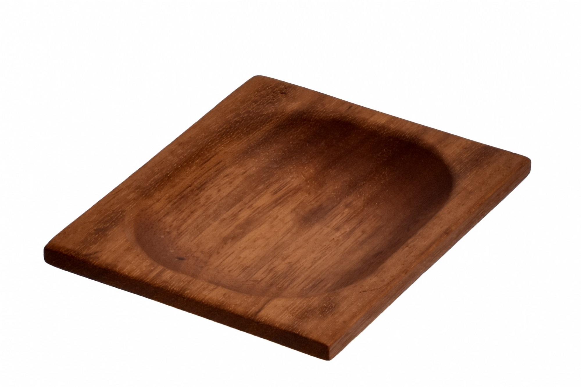 LAVA METAL Lava wood - servírovací miska 15x12 cm