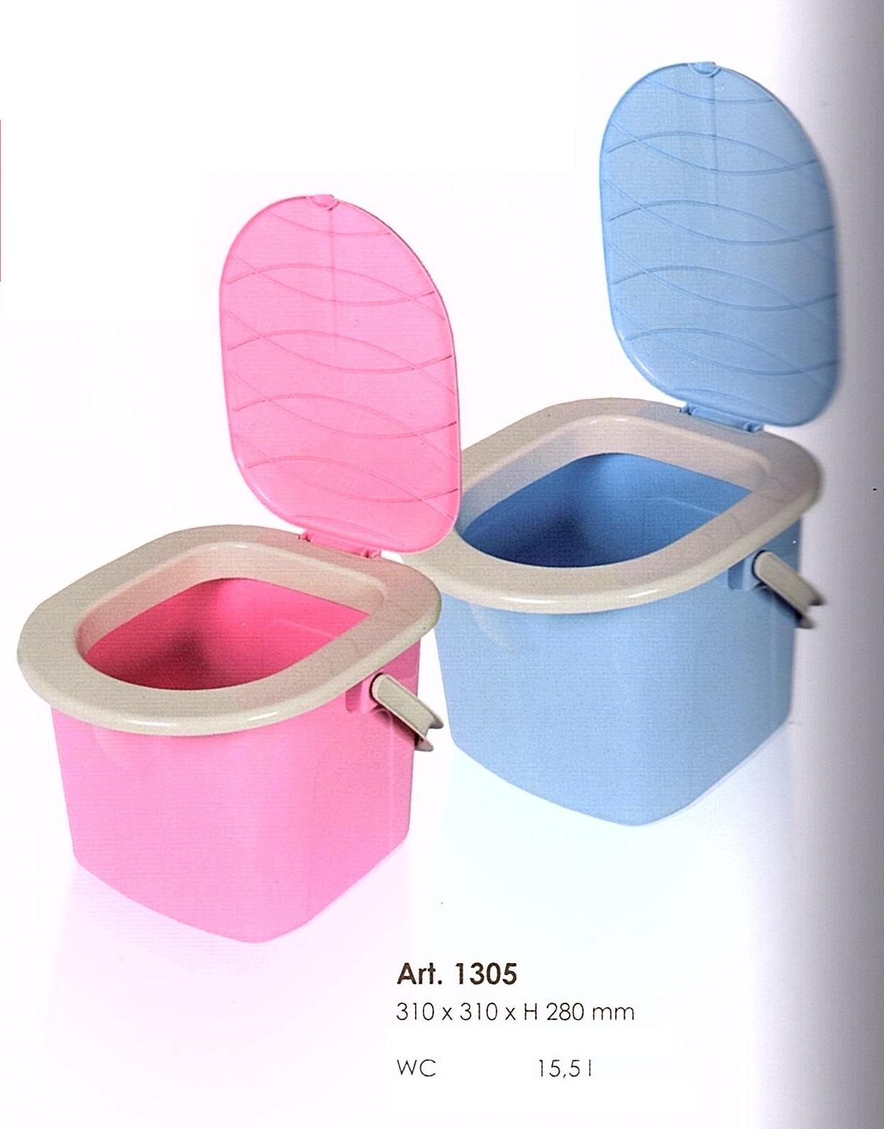 Branq WC kbelík 15,5l - růžový