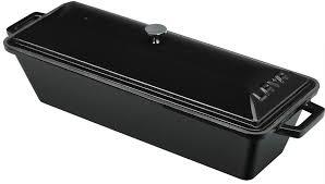 LAVA METAL Litinová terina - černá