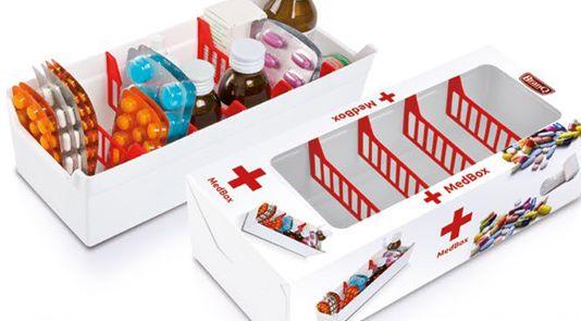 Branq Med box - organizér na léky