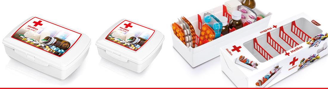 Branq Med box - box na léky 0,85l