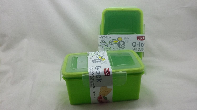 Branq Dóza na potraviny Q-lock 0,65l - obdelníková