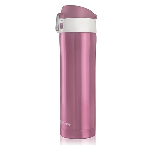 ASOBU Elegantní dámská láhev  DIVA CUP 450ml růžová