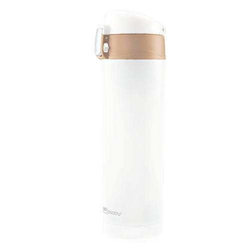 ASOBU Elegantní dámská láhev  DIVA CUP 450ml bílá