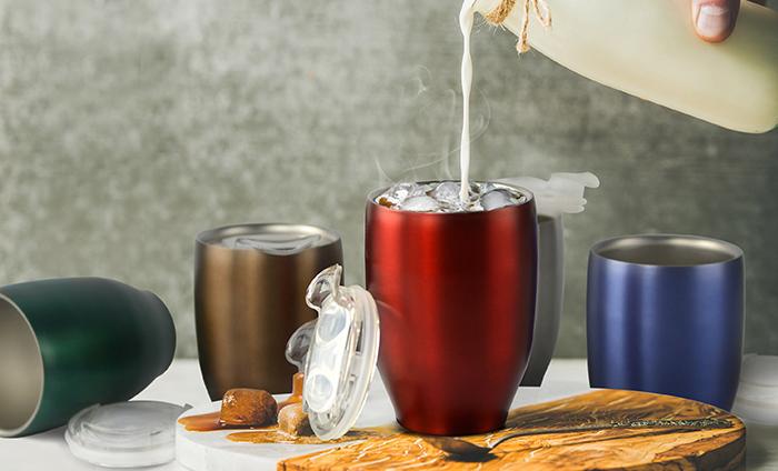 ASOBU Termo hrnek IMPERIAL COFFEE červený 300ml