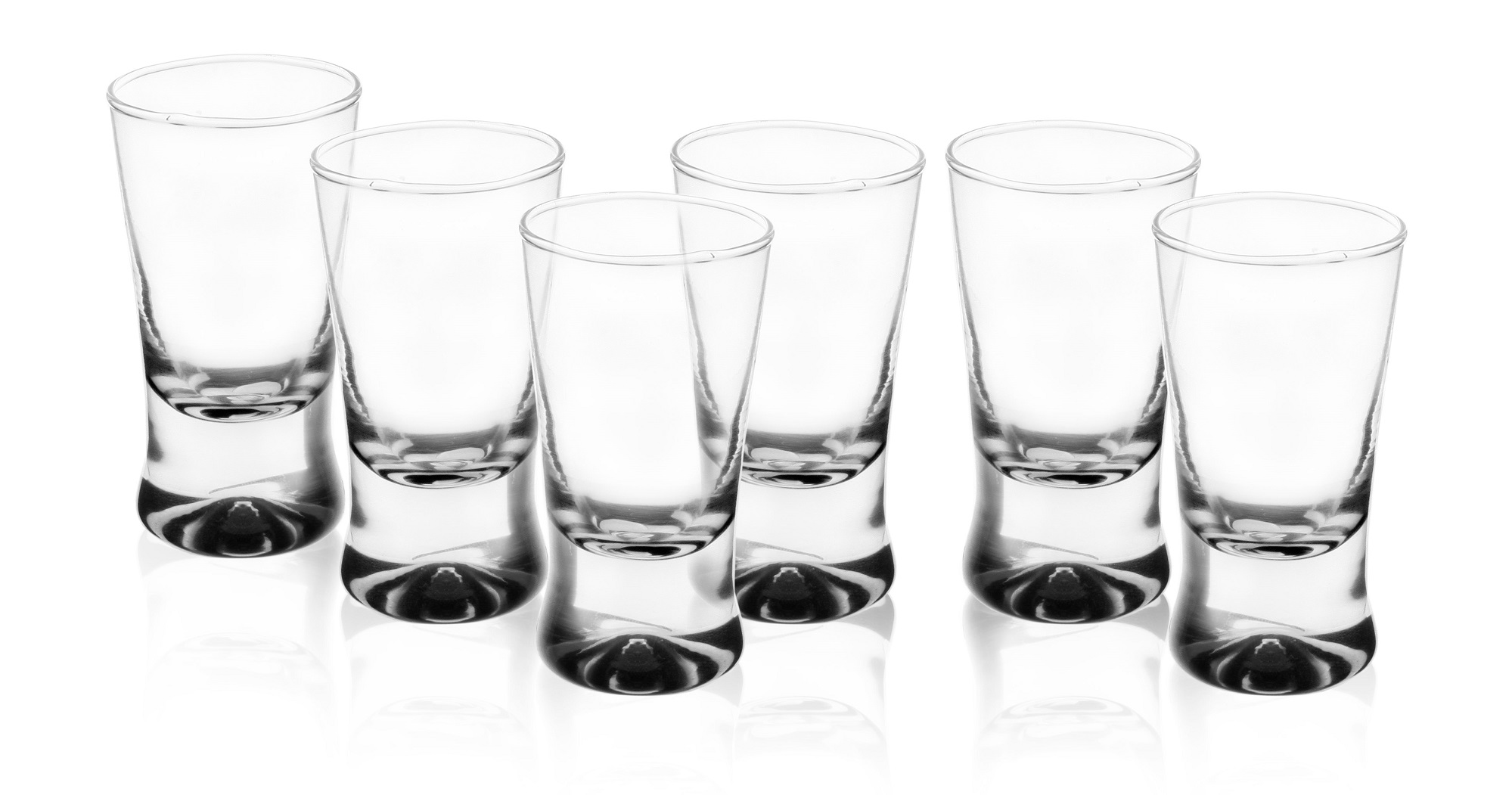 GLASMARK Sada 6 panáků na vodku - 25ml