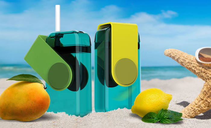 ASOBU Juicy drink box JB300 290ml zelený
