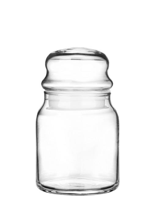 GLASMARK Skleněná dóza s víčkem, 290 ml